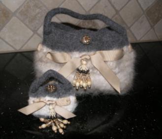 Persian cat hair bags