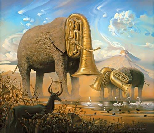 Music surrealism art i love surrealism but this